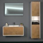 Ocean Bathrooms badkamermeubel Rottumerplaat 900 Eiken (1)